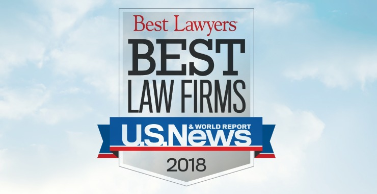 U.S. News 'Best Law Firms' 2018 Recognizes Minami Tamaki's Immigration and Personal Injury Practices