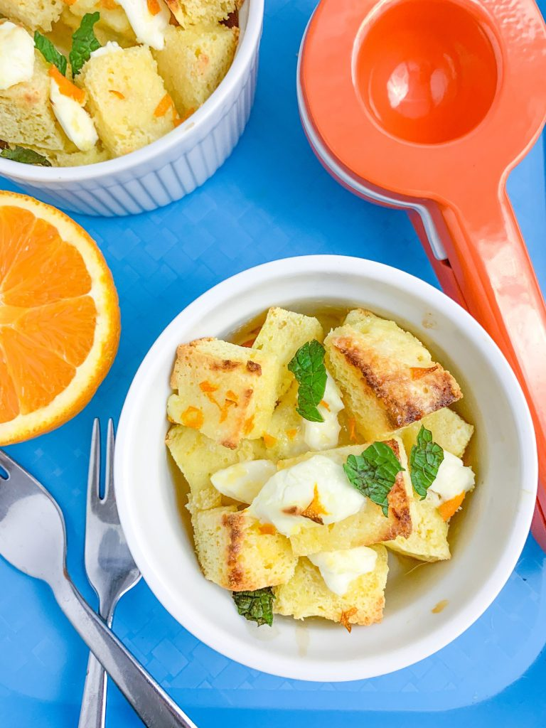 Orange Cinnamon Roll Cake Recipe (Keto, Low Carb)   #keto #lowcarb #glutenfree   mincerepublic.com