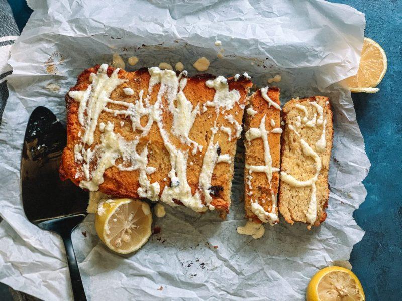 Low Carb Lemon Kefir Loaf Cake Recipe   An easy and satisfying low carb breakfast for a sugar free copycat Starbucks Lemon Loaf   #lowcarb #keto   mincerepublic.com