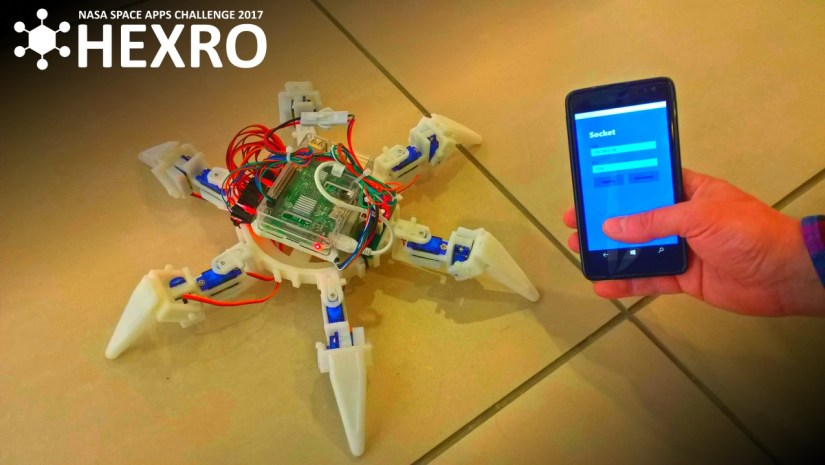 NASA Space Apps Challenge 2017 Project Hexro
