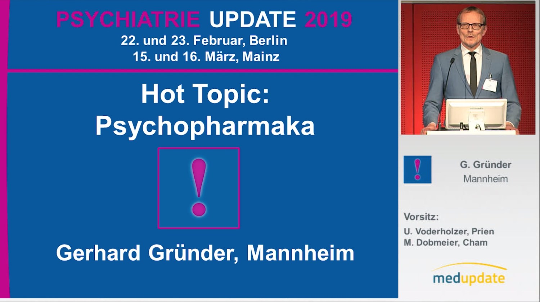 Hot Topic Psychopharmaka Mainz