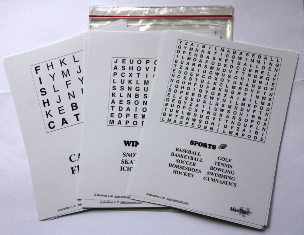 Large Print Word Search Games For Memory Amp Brain Of