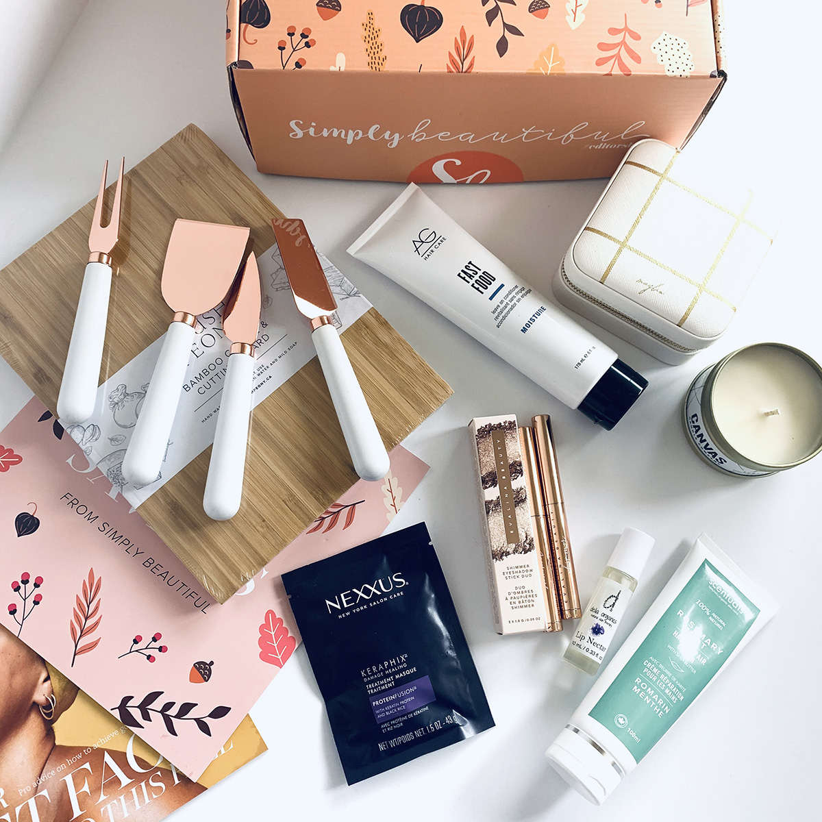 Simply Beautiful Editor's Unboxing Fall 2019