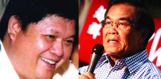 Former Congressmen Rodolfo Plaza of Agusan del Sur (left) and Constantino Jaraula of Cagayan de Oro City are facing charges of malversation, direct bribery and other graft and corrupt practices in relation to the alleged P10-billion pork barrel scam involving lawmakers. Plaza's photo is taken from his Facebook account. MindaNews file photo of Jaraula by Keith Bacongco