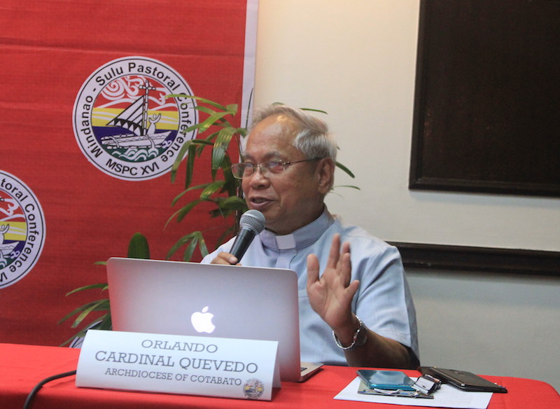 Cardinal Quevedo: threat of extremism didn't end with Marawi