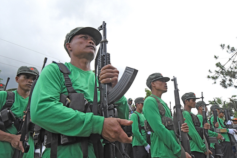 Cop, soldier, baby killed; 9 others injured in series of NPA attacks