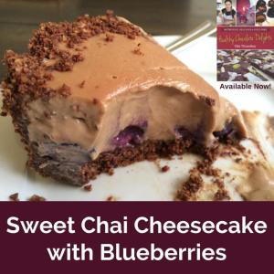 Sweet Chai Cheesecake
