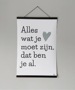 a2 poster 'alles'