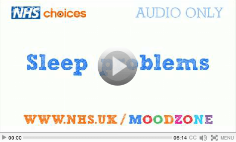 Moodzone - Sleep Problems Thumnail