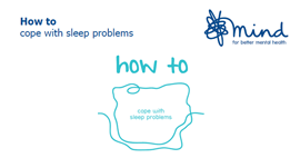 how to cope with sleep problems2