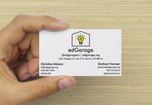 edGarage Business Card