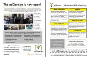 edGarage Onesheet Brochure