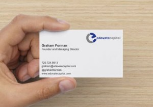 Edovate Capital Business Card