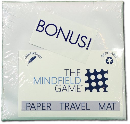 The Mindfield Game Paper Travel Mat