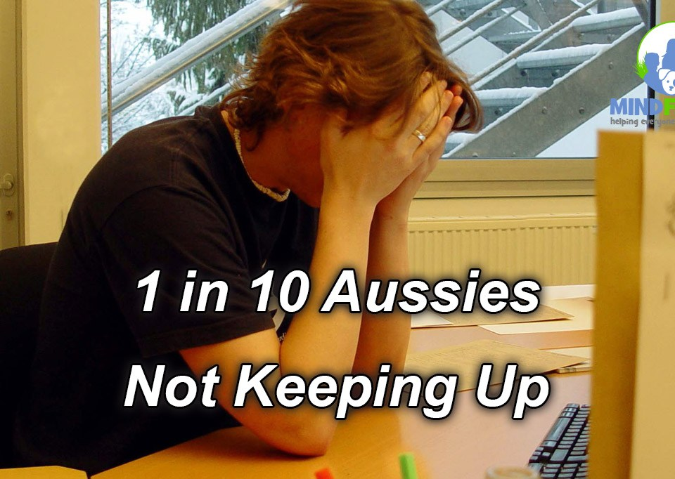 1 in 10 Aussies Not Keeping Up
