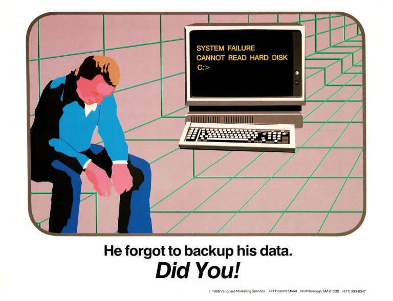 prosthetic knowledge — Sysadmin Posters from the 1980s Redditor evandena...