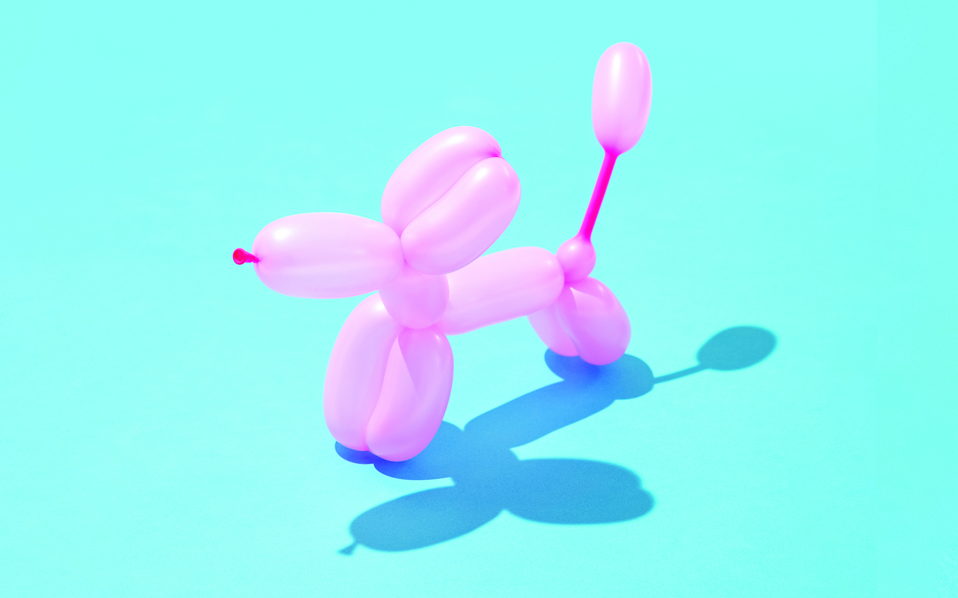 Building Resilience with the Wisdom of Clowning - Photo of a balloon shaped like a dog