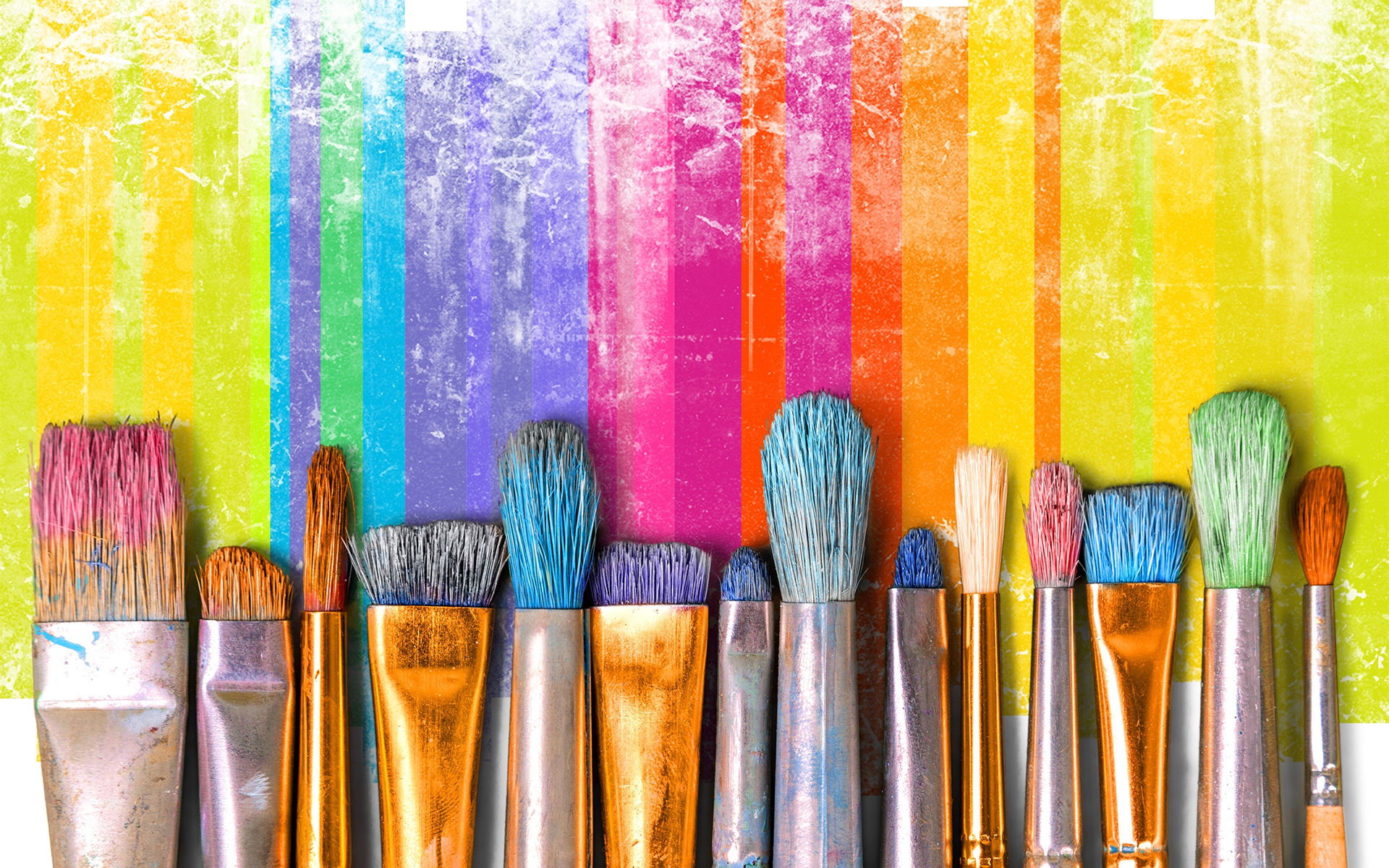 How do you tap into creativity? - Paintbrush art paint creativity craft backgrounds exhibition
