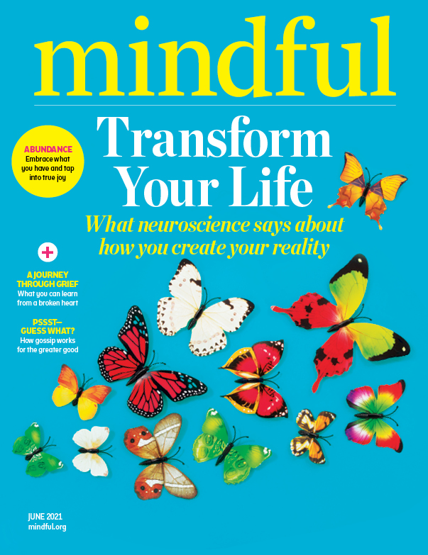 Mindful Magazine - June 2021 - Mindfulness, Meditation, and the Neuroscience of Reality