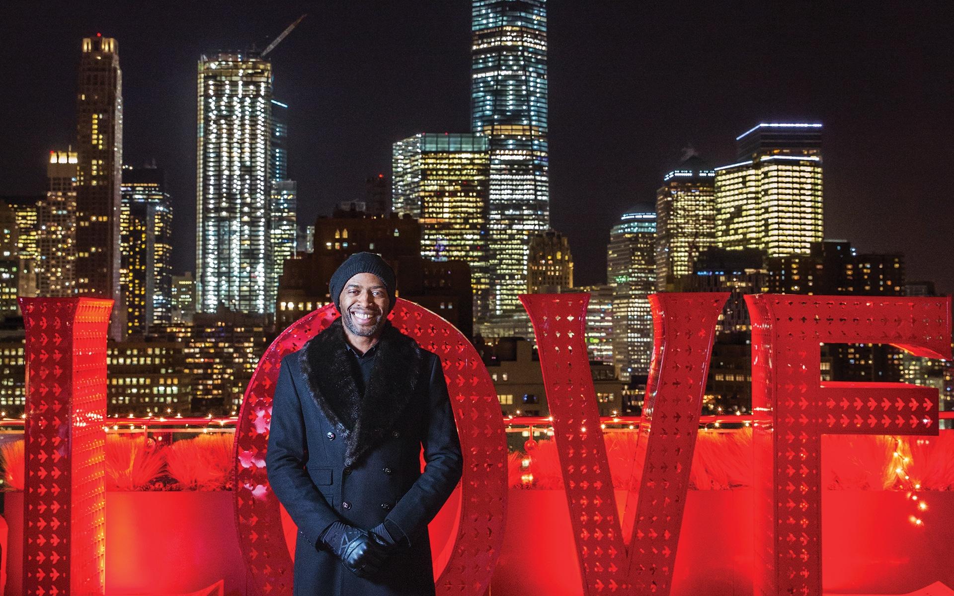 Carlos Alberto, meditation instructor and nightclub doorman in NYC