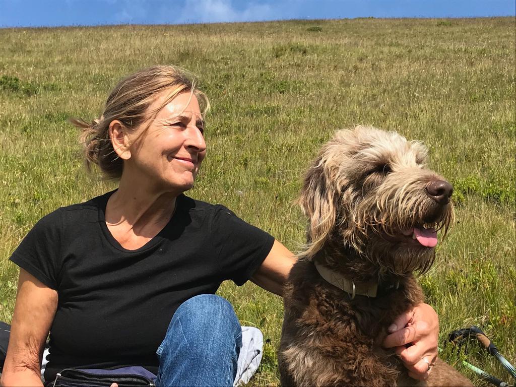 Erika Junger mit Ela