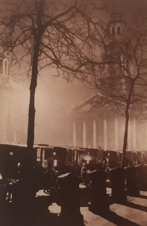 St Martin in the Fields - 1921 - Cab Rank.