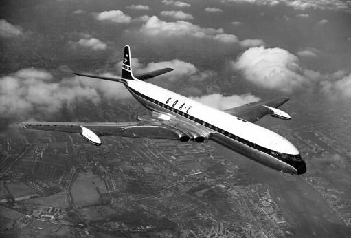 September 1954: BOAC Comet Airliner
