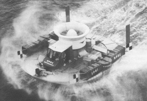September 1954: The First Hovercraft.