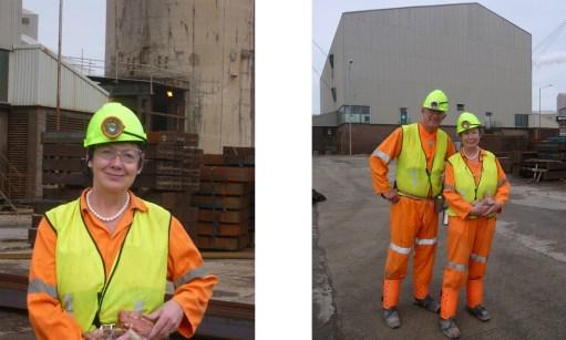 Boulby Potash Mine: Dressed and ready to go.