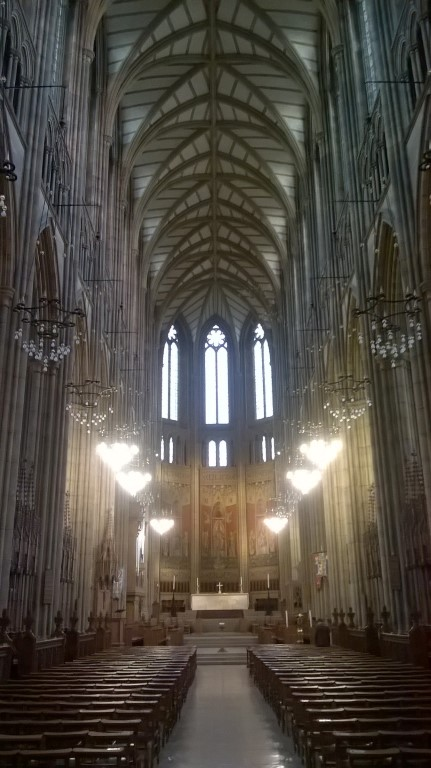 Laurie Lee Poetry Posts: Lancing College Chapel