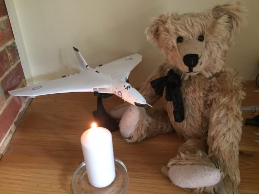 Lighting a Candle for Diddley: In memory of the Vulcan bomber that also 'died' in 2015. In the air that is…..