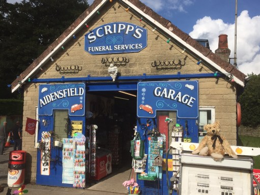 North Yorkshire Moors Railway - NYMR - Heartbeat: Scripp's Garage and Funeral Parlour.
