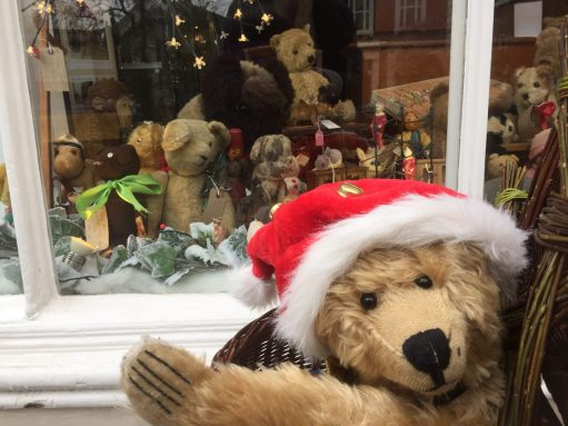 Old Bears - Bertie meets the bears at the Antiique Shop.