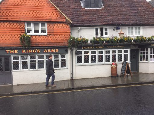 Old Bears - West Street, Dorking. The Kings Arms.
