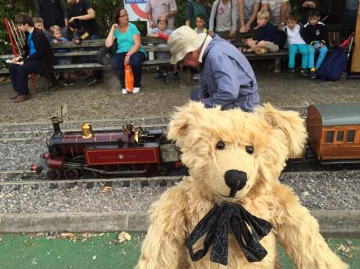 London Transport Museum: Even a Steam Train.