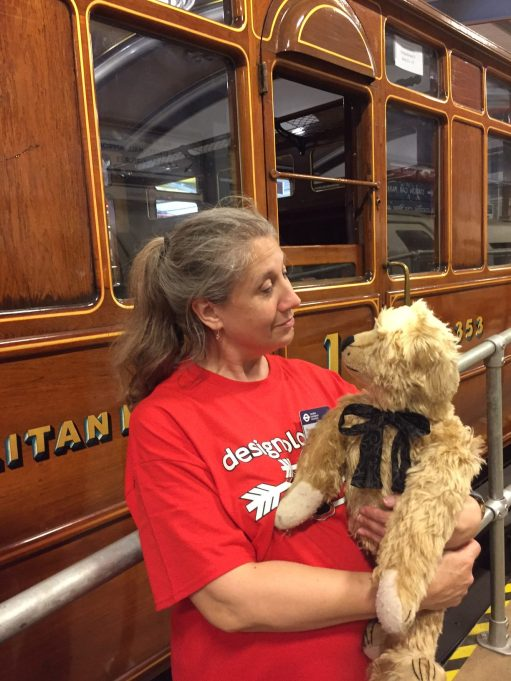 London Transport Museum: Our Second volunteer. Looking after Victorian steam train carriages from the Metropolitan Railway.