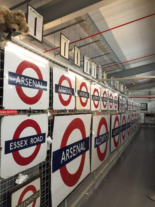London Transport Museum: Looking for Paddington.