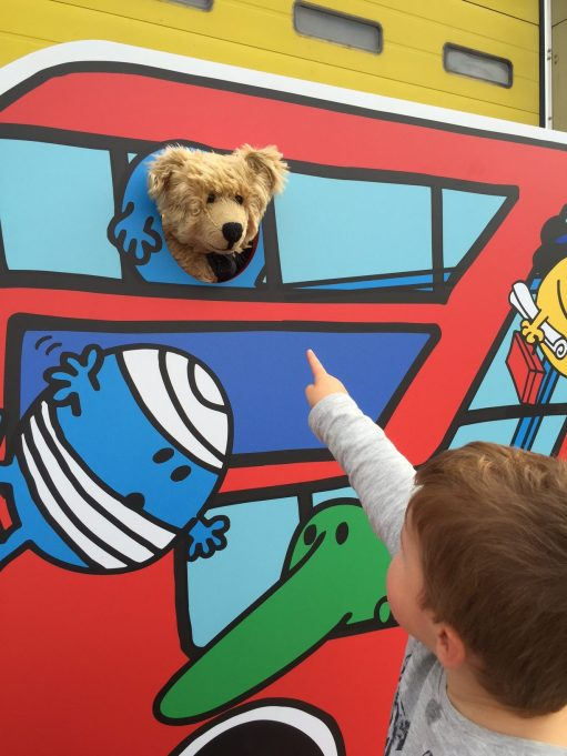 "London Transport Museum: ""Mummy… there's a bear up there!'"