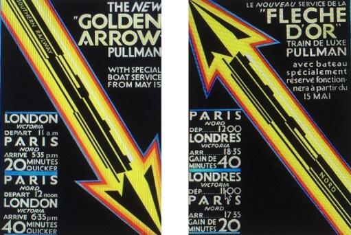 Paris: Golden Arrow and Flèche D'Or.