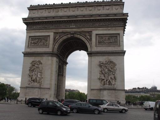 Paris: The Arc de Triomphe