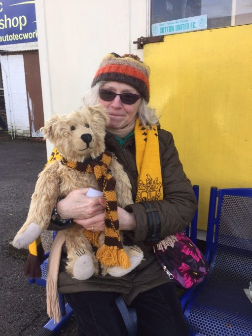 Sutton United: Frances & Bertie.