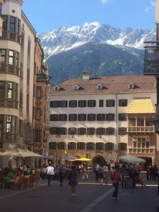 Austria: The famous Golden Roof in Innsbruck.