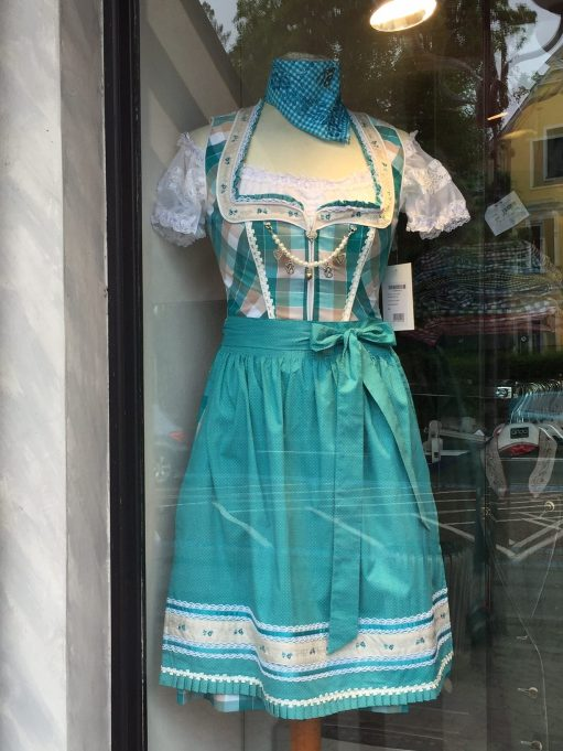 Austria: And their traditional dresses.
