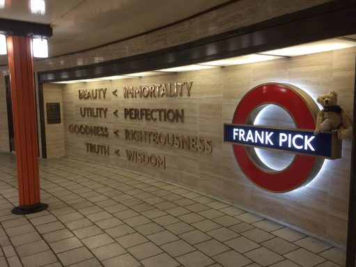 Piccadilly Circus: Frank Pick.
