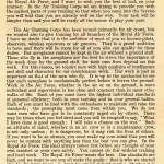 A Transcript of Air Marshal Garrod's Speech.