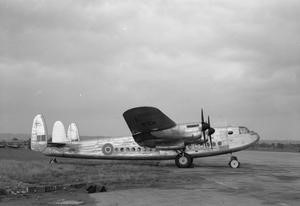 Ernie's War: Avro York C Mark 1 No 511 Squadron at RAF Lyneham IWM (CH16488).