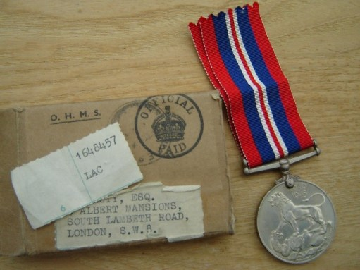 Ernie's War: Medal for services followed.