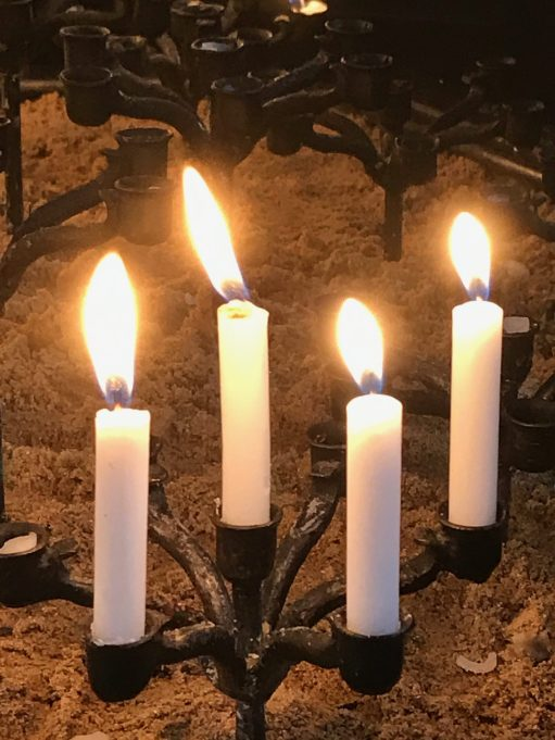 GAD. Generalised Anxiety Disorder: Lighting a Candle for Diddley. This week's candles for Diddley.