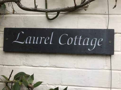 Laurel Cottage: Made in Wales of Welsh slate.