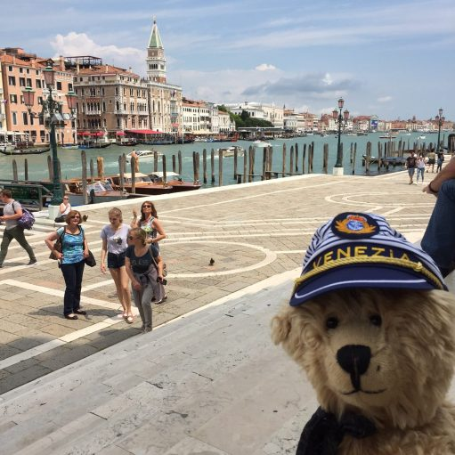 Teddy Bears' Picnic: Bertie in Venice.